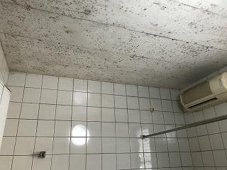 BEFORE カビだらけの浴室天井