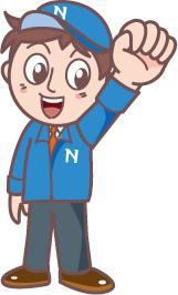 CleanNAKAのマスコットキャラクター、ナカちゃん