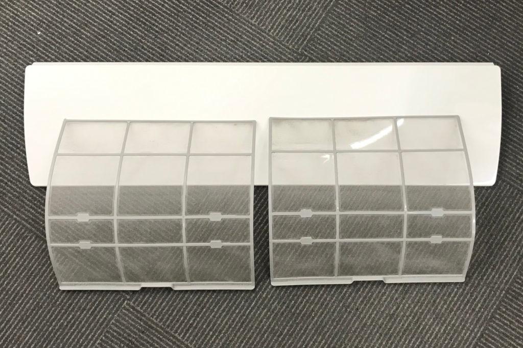 エアコンクリーニング 作業の流れ5 パーツ洗浄